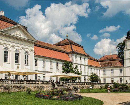 Schloss Fasanerie, Südfassade, (c) Kulturstiftung des Hauses Hessen