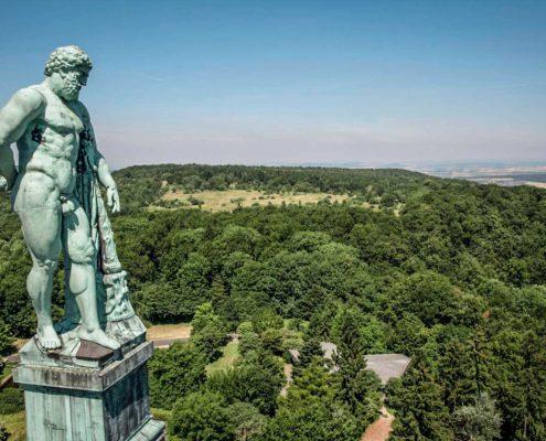 Bergpark Wilhelmshöhe, Herkules, (c) MHK, Foto: Arno Hensmanns