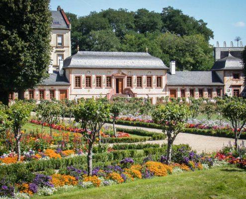 Prinz-Georg-Garten, Darmstadt, Pretlackches Gartenhaus,(c) VSG Hessen: Foto: Anja Dötsch