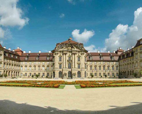 Schloss-Weissenstein, Frontansicht, (c) Gemeinnützige Stiftung Schloss Weissenstein in Pommersfelden