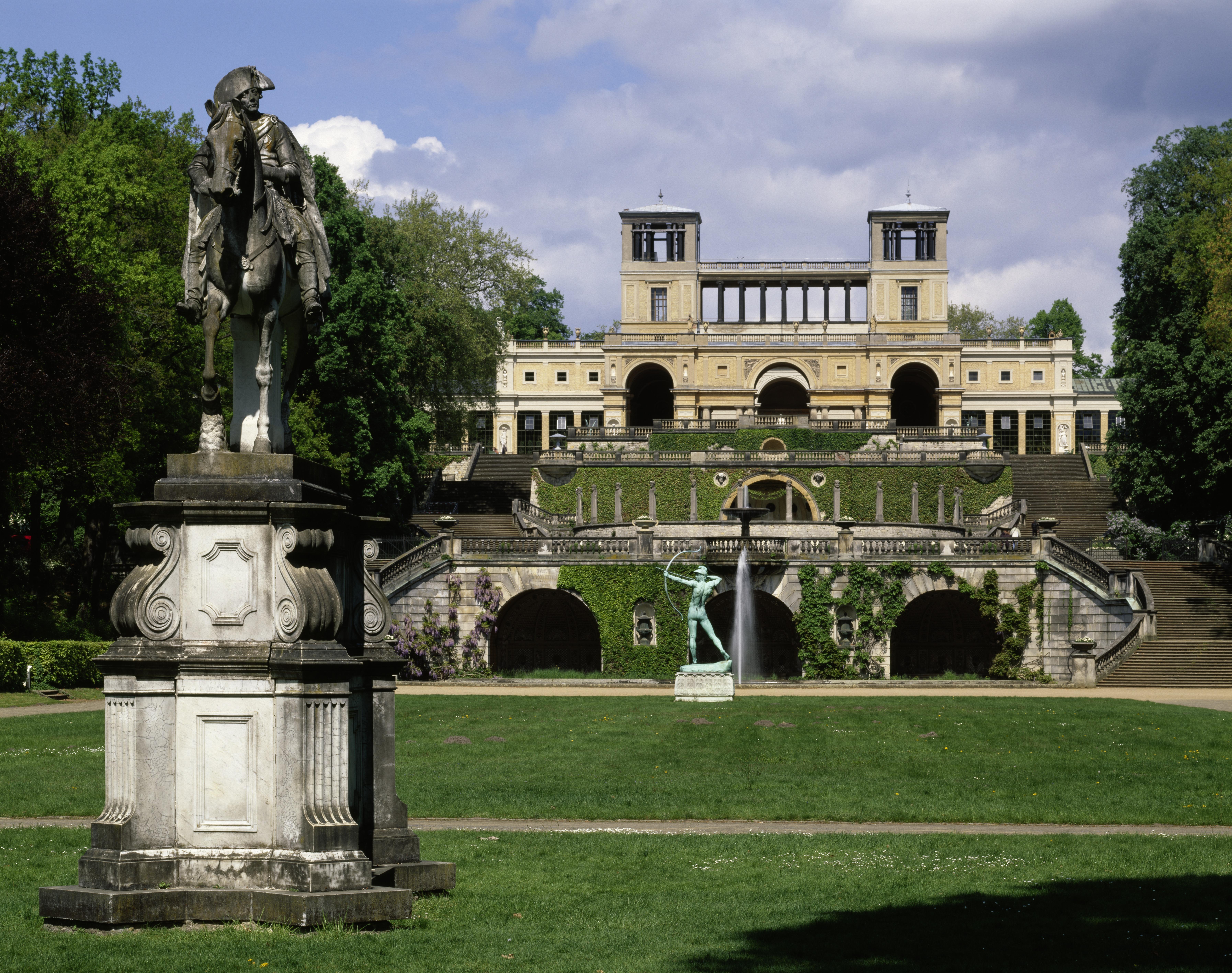 Potsdam, Orangerieschloss im Park Sanssouci, Foto: © SPSG. Hans Bach