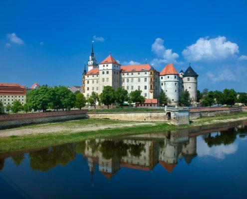Schloss Hartenfels in Torgau an der Elbe, www.schloesserland-sachsen.de (c) Rainer Weisflog