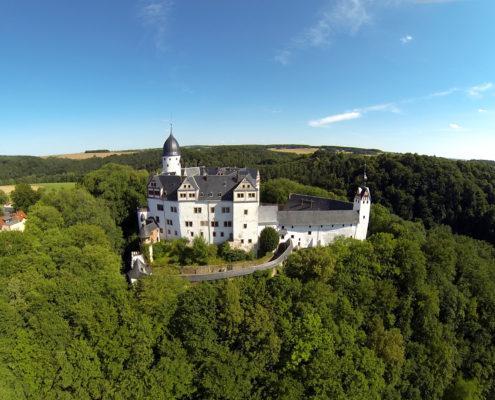Schloss Rochsburg, Verborgener Schatz im Grünen (c) www.schloesserland-sachsen.de