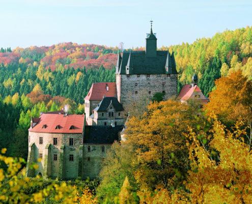 Burg Kriebstein (c) Schlösserland Sachsen