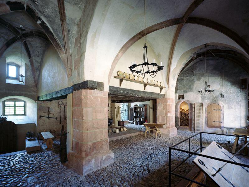 Hofküche von Schloss Rochlitz (c) Schlösserland Sachsen