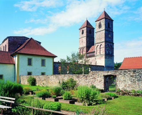 Kloster Veßra (c) Stiftung Thüringer Schlösser und Gärten