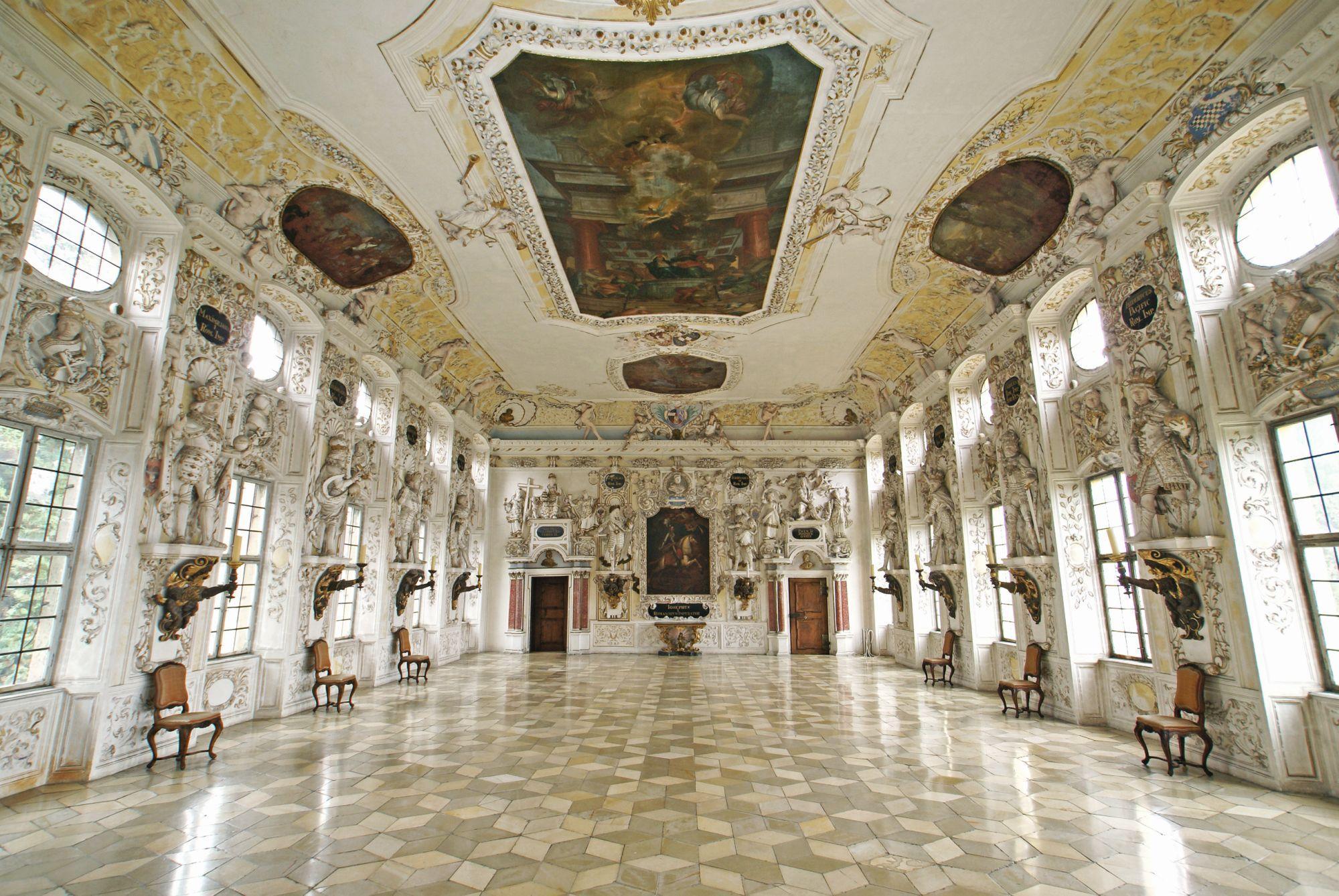 Schloss Salem, Kaisersaal, Nachweis: Staatliche Schlösser und Gärten Baden-Württemberg