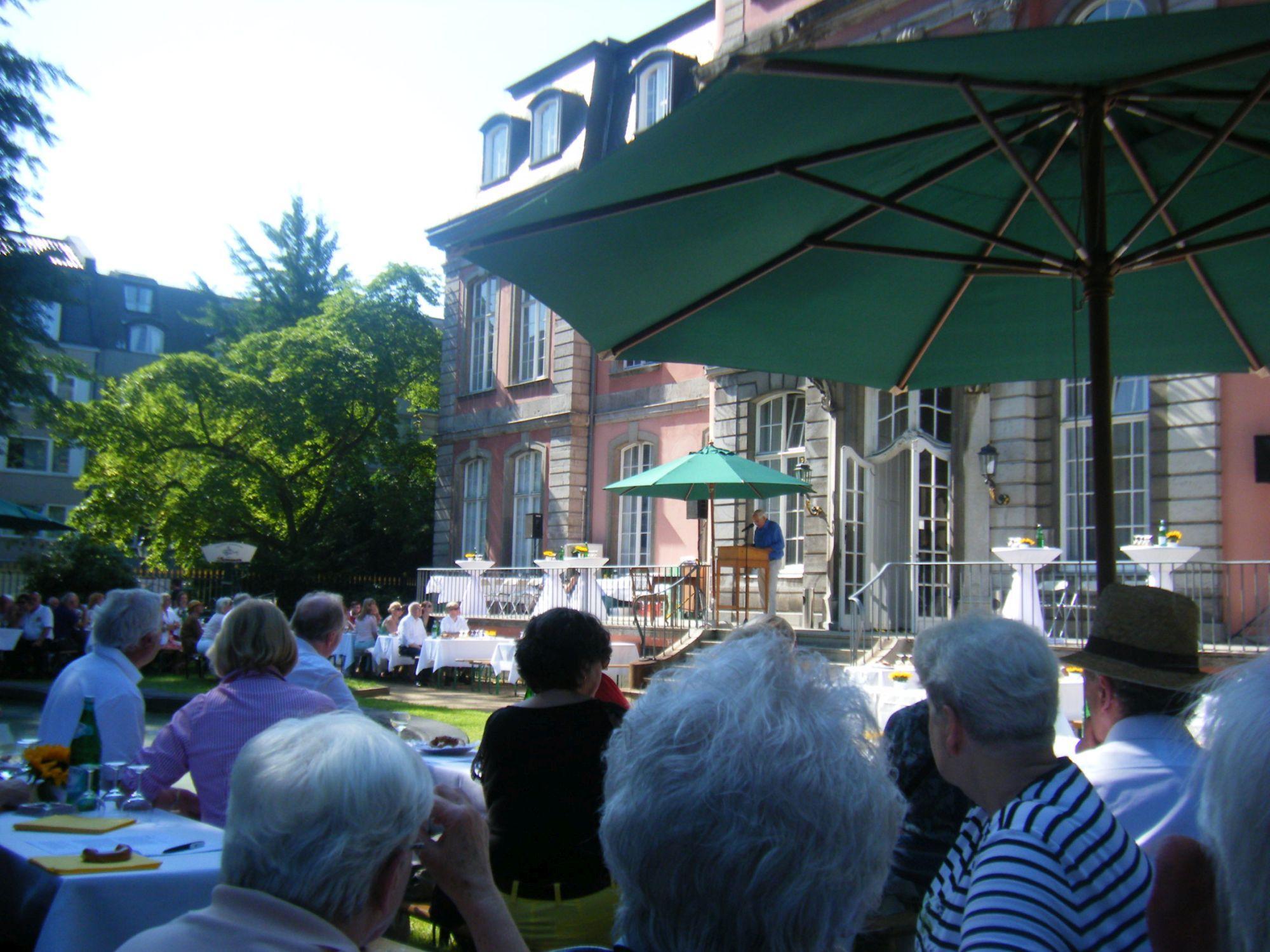 Goethe-Sommerfest im Goethe-Museum/Schloss Jägerhof (c) Goethe-Museum Düsseldorf/Anton-und-Katharina-Kippenberg-Stiftung