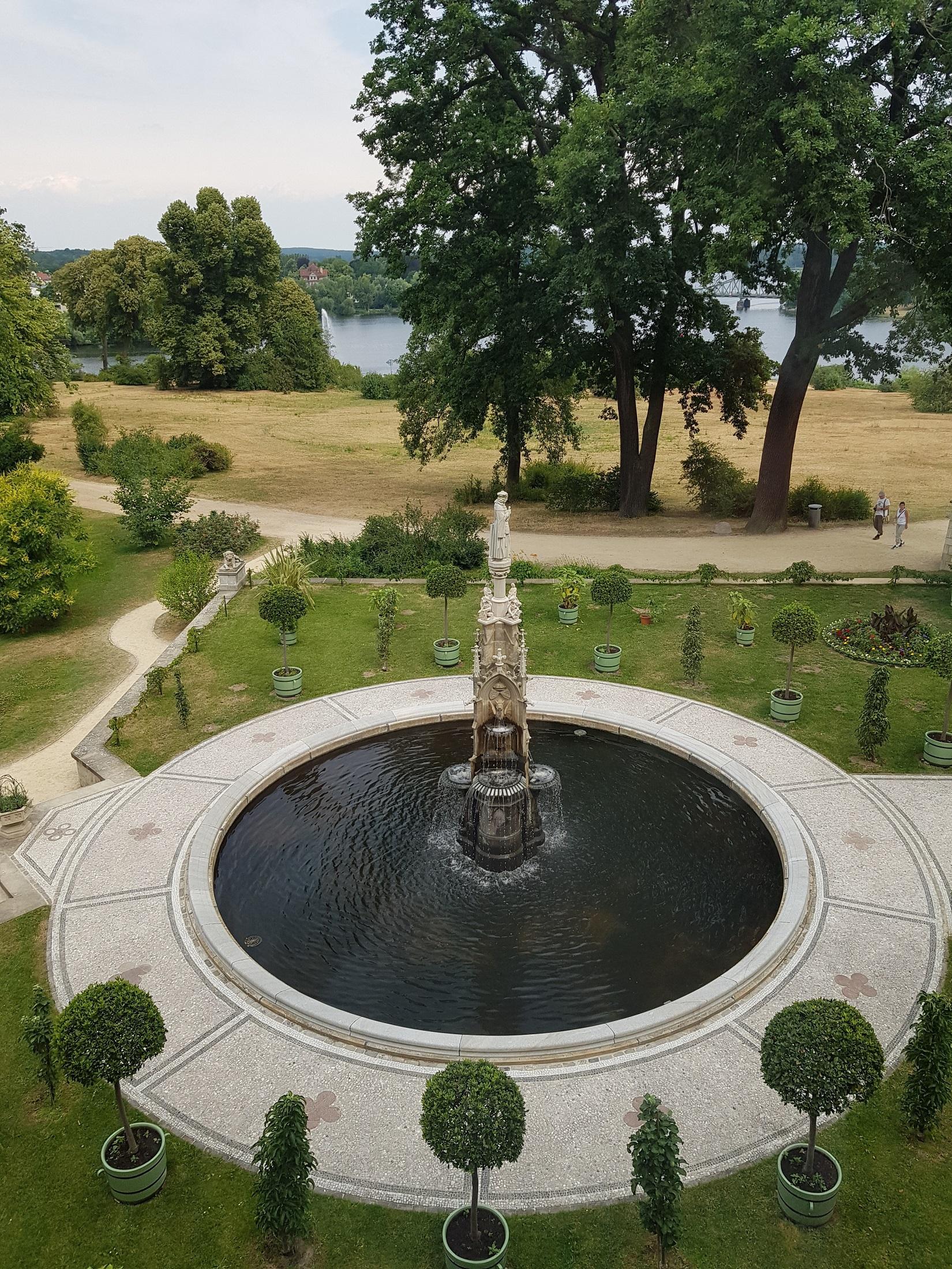 Schlosspark Babelsberg, Porzellanterrasse, Foto (c) Andrea Hahn | Text & Presse