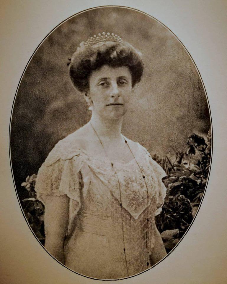 Prinzessin Feodora zu Schleswig-Holstein-Sonderburg-Augustenburg um 1908, (c) Photo: Archiv Thomas Weiberg