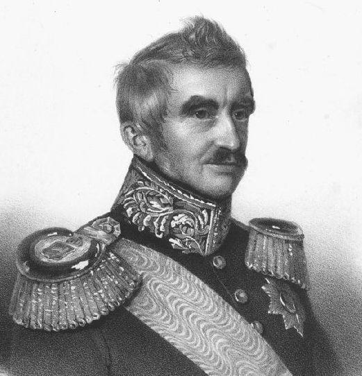Ernst von Malortie, Ausschnitte der Lithographie auf China bei L. Sachse, Berlin, um 1850, Quelle: Wikipedia