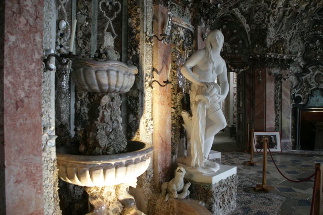 Grotte Sala Terrena, Schloss Weissenstein, (c) Foto: Sylvia Hubele