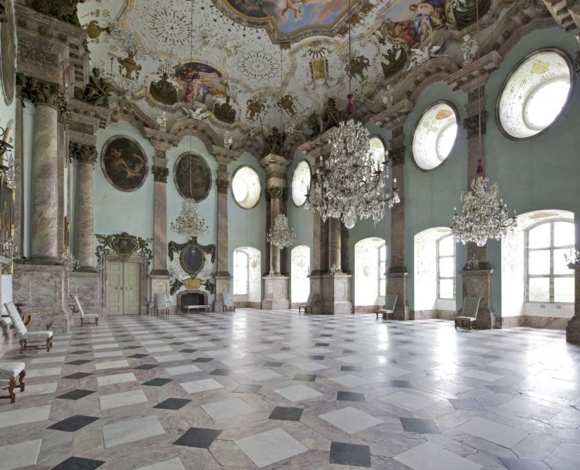 Marmorsaal Schloss Weissenstein, Pommersfelden (c) Graf von Schönborn, Wiesentheid