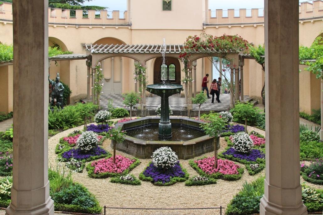 Der Garten von Schloss Stolzenfels, (c) Eva Adamek
