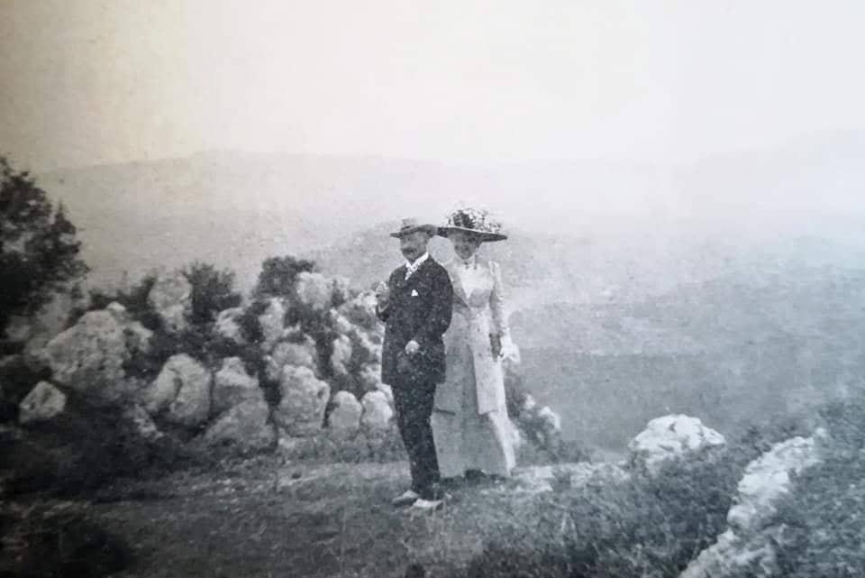 Kaiser Wilhelm II. und Kaiserin Auguste Victoria auf Korfu
