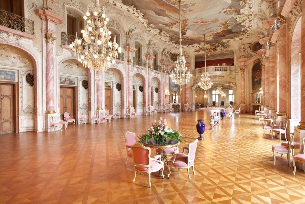"""Festsaal in Schloss Bückeburg, (c) """"Alte Schlossküche"""", (c) Fürstliche Schlossverwaltung, Bückeburg"""