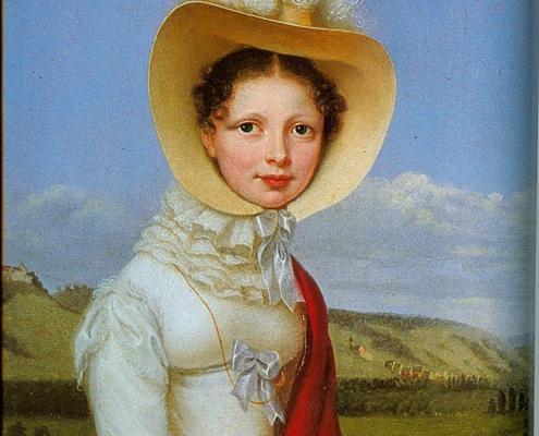 Königin Katharina von Württemberg 1819